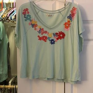 Forever 21 boutique cropped top